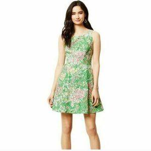 MAEVE Dress Size 0 Green Verbena Green Floral